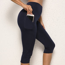 Load image into Gallery viewer, 3/4 women leggings With Pocket - OneWorldDeals