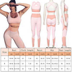 Women's Seamless Backless Bra + Leggings set - OneWorldDeals
