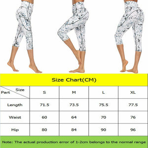 Women Calf-length Leggings With Pockets - Saikin-rettou
