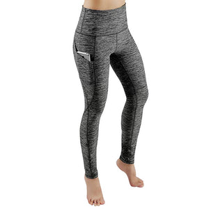 High Waist Women Leggings With Pocket - OneWorldDeals