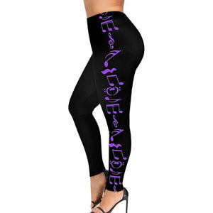 High Waist Plus size womens leggings - OneWorldDeals