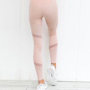 High Waist Tummy Control Leggings - Mcburneyjunction