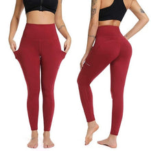 Load image into Gallery viewer, Women's Leggings With Pockets - Mcburneyjunction
