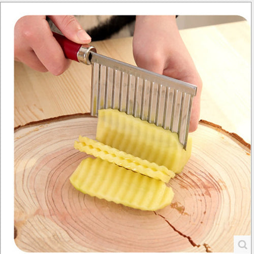Hot sale Potato Wavy Edged Tool Stainless Steel - OneWorldDeals