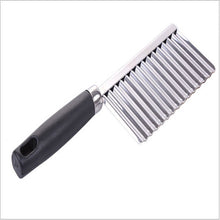 Load image into Gallery viewer, Hot sale Potato Wavy Edged Tool Stainless Steel - Mcburneyjunction