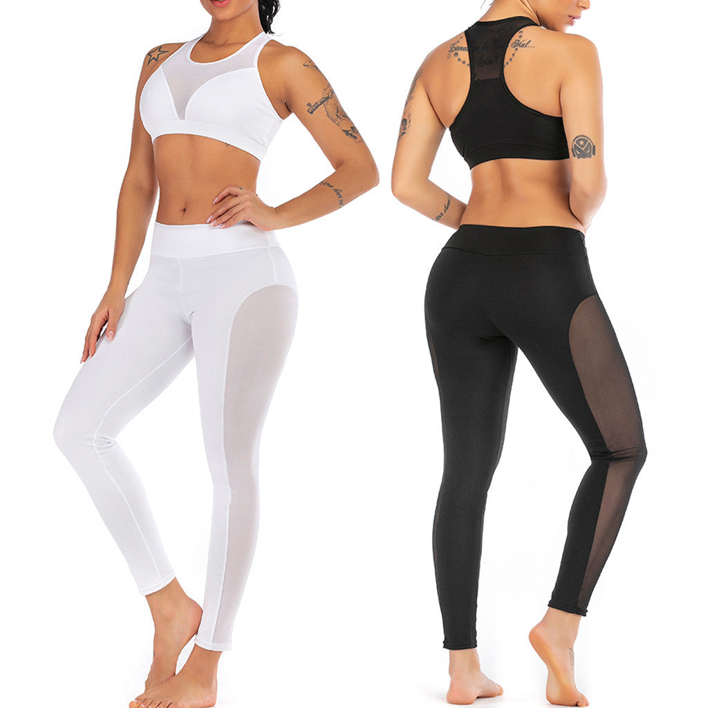 Womens Seamless Tummy Control Breathable Leggings - OneWorldDeals