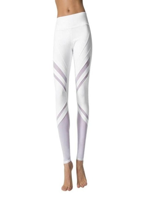 Womens High Waist Leggings - Saikin-rettou