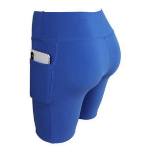 women's short Leggings With Pockets - Iraniancinemachannel