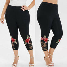 Load image into Gallery viewer, Women Plus Size Leggings - OneWorldDeals