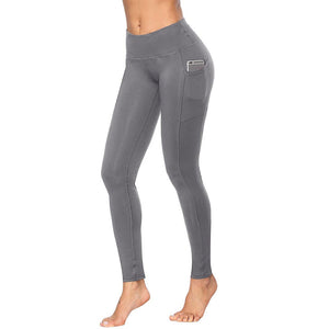 Women's seamless leggings With Pockets - Iraniancinemachannel