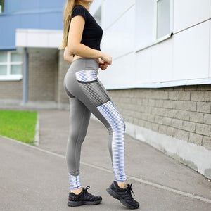 High Waist Leggings With Pockets - OneWorldDeals