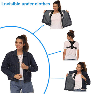 Posture Corrector & Back Brace Support for Women and Men - OneWorldDeals