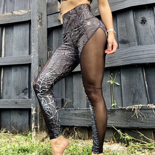Jay Lo High Waist Halftime Leggings - Iraniancinemachannel