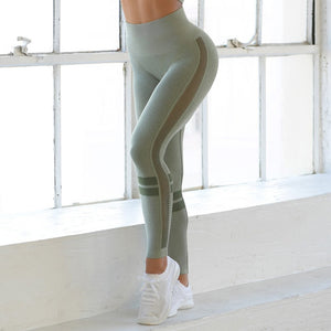 Womens High Waist Seamless Leggings - OneWorldDeals