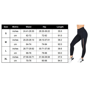 Womens High Waist Mesh Leggings With Pocket - Mcburneyjunction