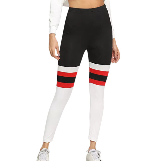 Womens High Waist Leggings - Mcburneyjunction