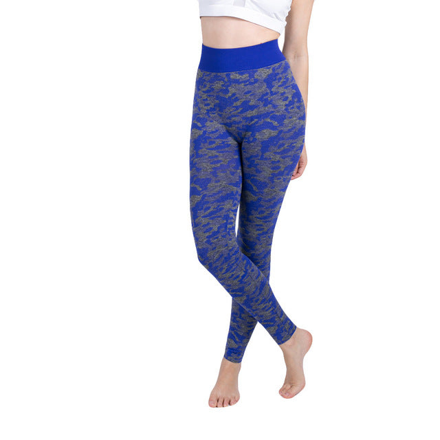 Womens Seamless High Waist Yoga Leggings - Saikin-rettou