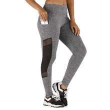 Load image into Gallery viewer, Womens Seamless Tummy Control Leggings With Pocket - Mcburneyjunction