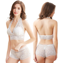 Load image into Gallery viewer, Lace Bra And Boyshort Set - Saikin-rettou