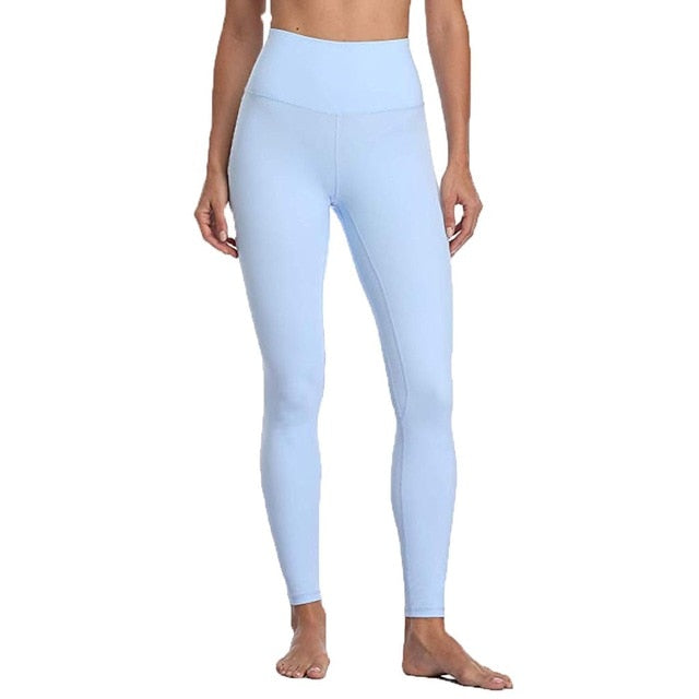 Womens High Waist Leggings With Pocket - OneWorldDeals
