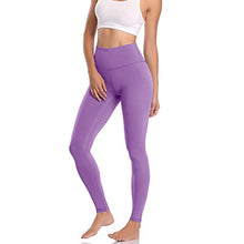 Load image into Gallery viewer, Womens High Waist Leggings With Pocket - OneWorldDeals