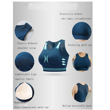 Load image into Gallery viewer, Breathable Mesh Sports Bra - Mcburneyjunction