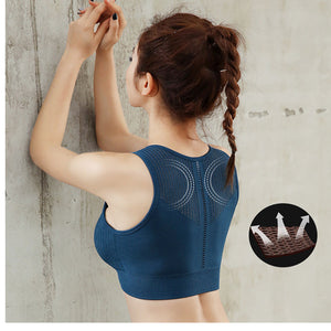 Breathable Mesh Sports Bra - Mcburneyjunction