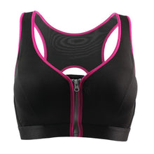 Load image into Gallery viewer, Sports Bra With Front Zipper - OneWorldDeals