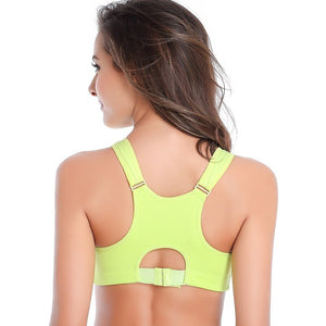 Sports Bra With Front Zipper - Mcburneyjunction