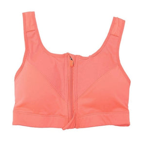 Sports Bra With Front Zipper - Saikin-rettou