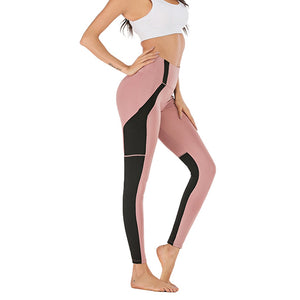 High Waist Leggings With Pocket - Mcburneyjunction