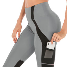 Load image into Gallery viewer, High Waist Leggings With Pocket - Mcburneyjunction