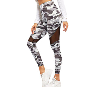 Womens Camouflage Leggings - OneWorldDeals