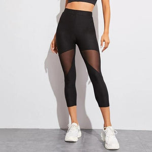 Mesh Leggings - Mcburneyjunction
