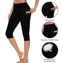 Load image into Gallery viewer, High Waist Capri With Pocket - OneWorldDeals