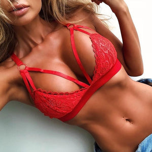 Lingerie Set Lace Bra And G-string - OneWorldDeals