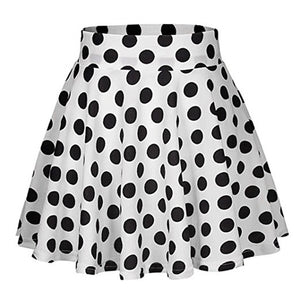 Polka Dot Athletic Skirt - Mcburneyjunction