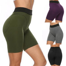 Load image into Gallery viewer, High Waist Short Leggings - Mcburneyjunction