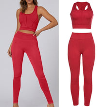 Load image into Gallery viewer, Sports Bra and Leggings Set - Saikin-rettou