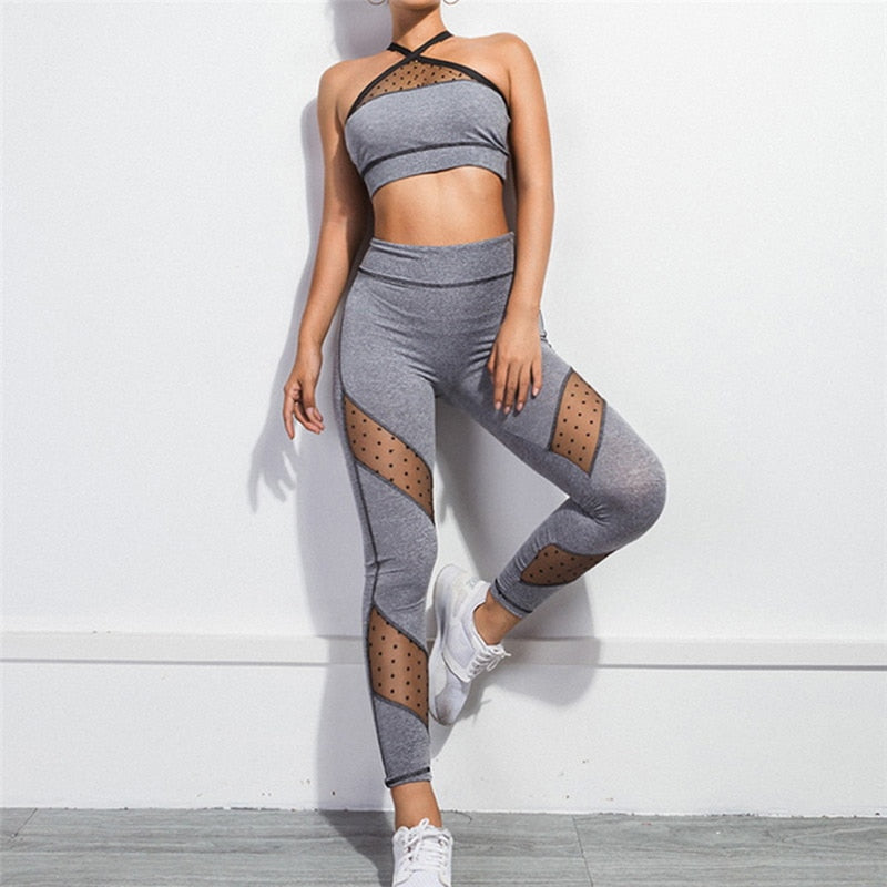 Sports Bra and Leggings Set - OneWorldDeals