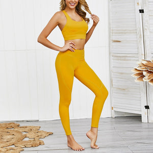 Bra and Leggings Set - OneWorldDeals