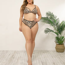 Load image into Gallery viewer, Leopard Print Bra Brief Sets - Saikin-rettou