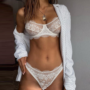 Lace Bra And Panty Set - Iraniancinemachannel
