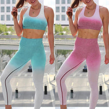 Load image into Gallery viewer, Sports Bra And Leggings Set - Mcburneyjunction