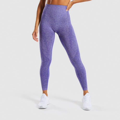 Seamless Tummy Control Leggings - Mcburneyjunction