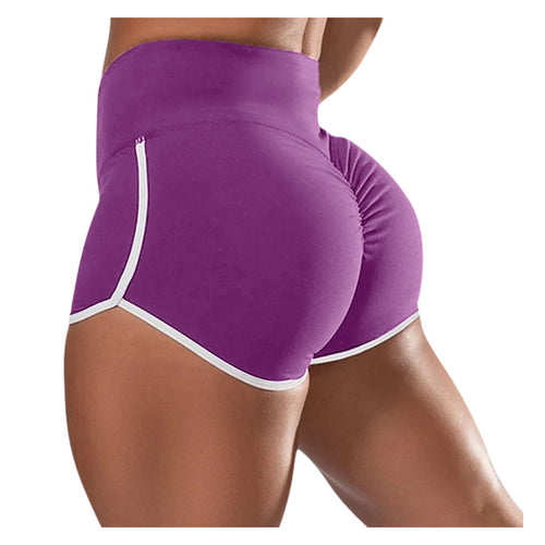 High Waist Seamless Gym Shorts - Mcburneyjunction