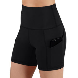 High Waist Leggings Shorts - Mcburneyjunction