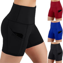 Load image into Gallery viewer, High Waist Leggings Shorts - Mcburneyjunction