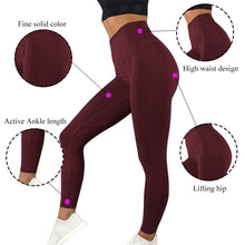 Load image into Gallery viewer, High Waist Leggings - OneWorldDeals