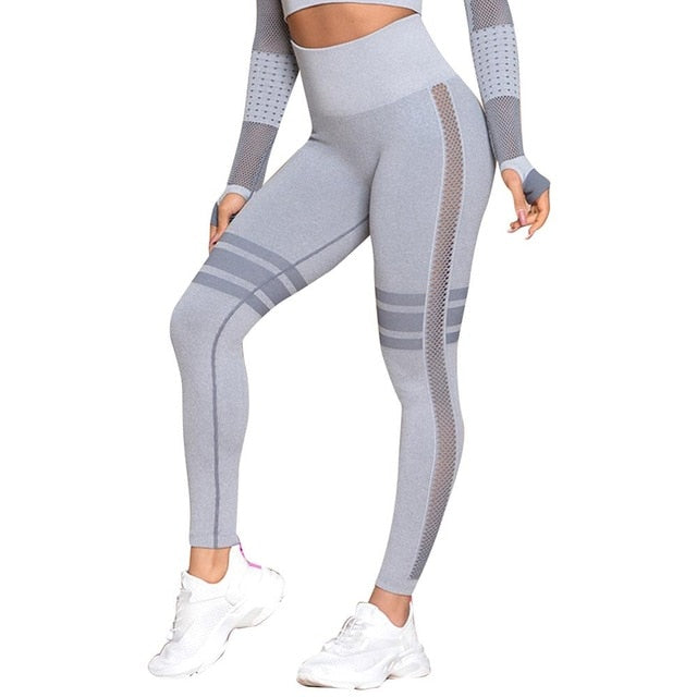 High Waist Leggings - Mcburneyjunction